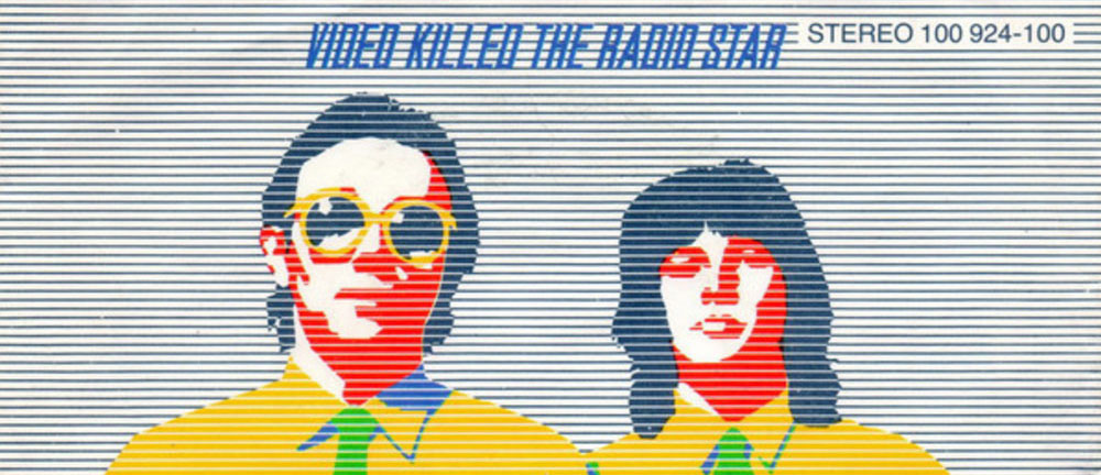 Video killed the radio star graphic
