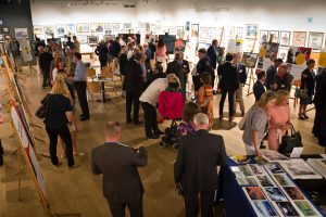 Leonard Cheshire Art Exhibition Event