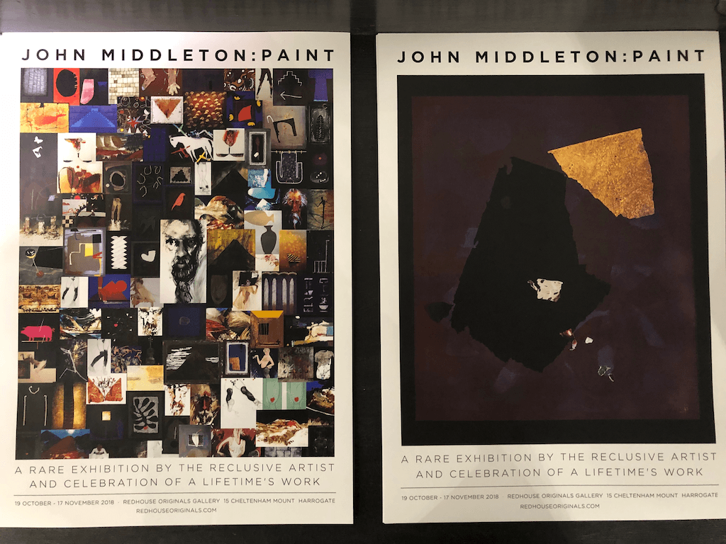 John Middleton exhibition at Red House Gallery