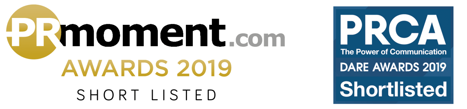 Tuesday Media were shortlisted for the PR Moment awards 2019, and have also been nominated for PRCA awards 2019.